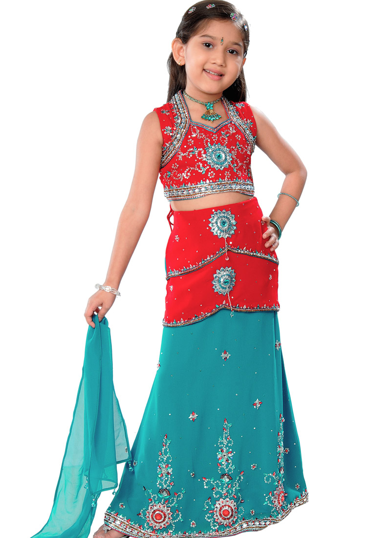 Indian Dresses Kids Girls