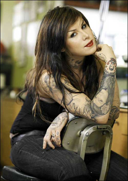 reality show Miami Ink and the resulting spin-off, her own LA Ink. Kat