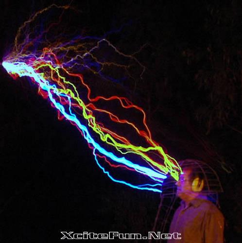 Peter Terren Artist of Electricity  HighVoltage Sculpture