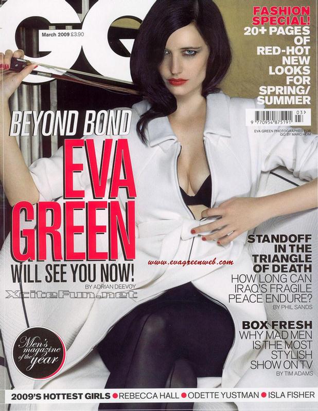 Eva Green Beyond Bond GQ Eva Green Hot The Dreamer