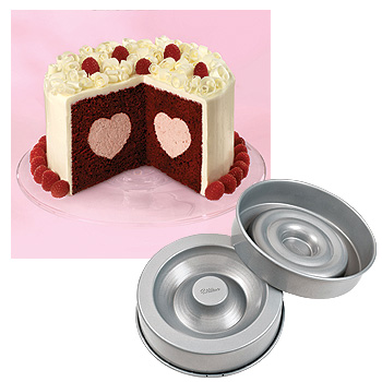 Heart Cake Pan Sweet Valentines Day
