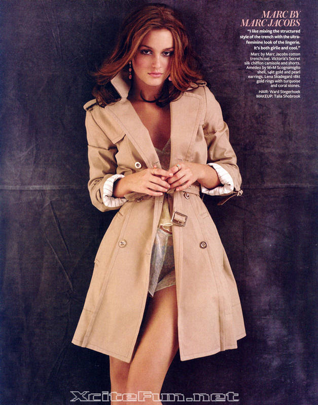 Leighton Meester Truly Captivating  InStyle Photo Shoot