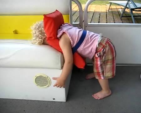 Funny Sleeping Positions
