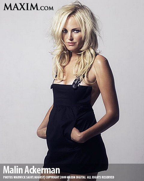 Malin Akerman: UnMasked Blond - Maxim April Shots - XciteFun.net