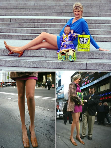 Svetlana Pankratova: World's Longest Legs - 4 feet ...