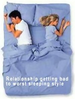 Couples Sleeping Positions Link To Relationship