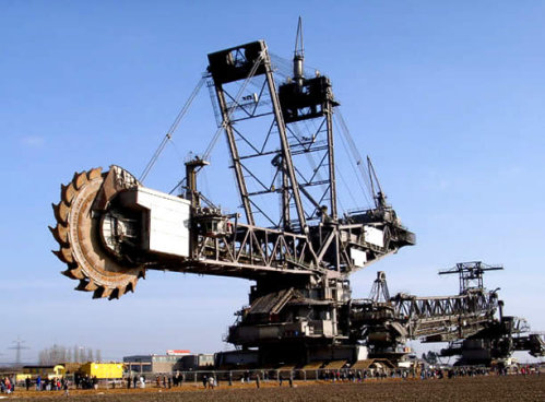 World 39 S Largest Digging Machine Misc Photography