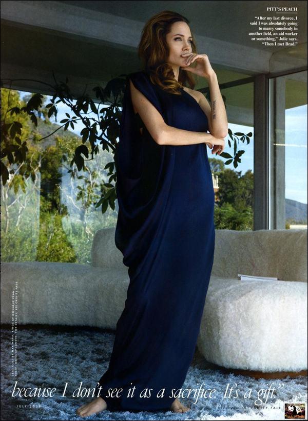 Angelina Jolie Vanity Fair Photoshoot Must See Xcitefun Net