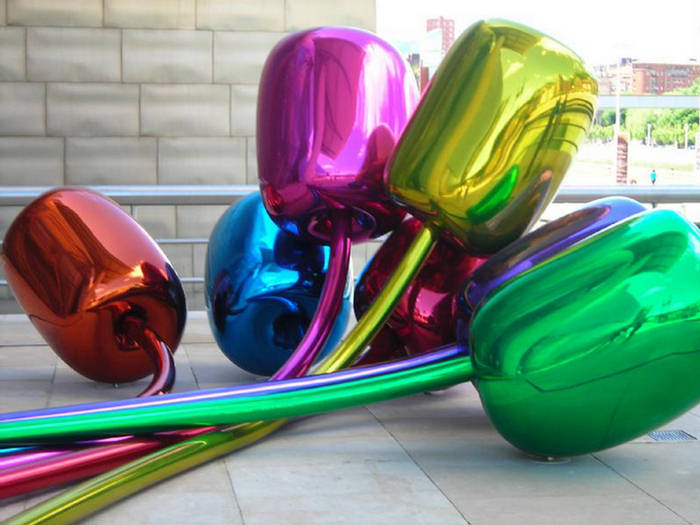Jeff Koons: Color Coated Tulip Balloons - XciteFun.net Balloons Transparent
