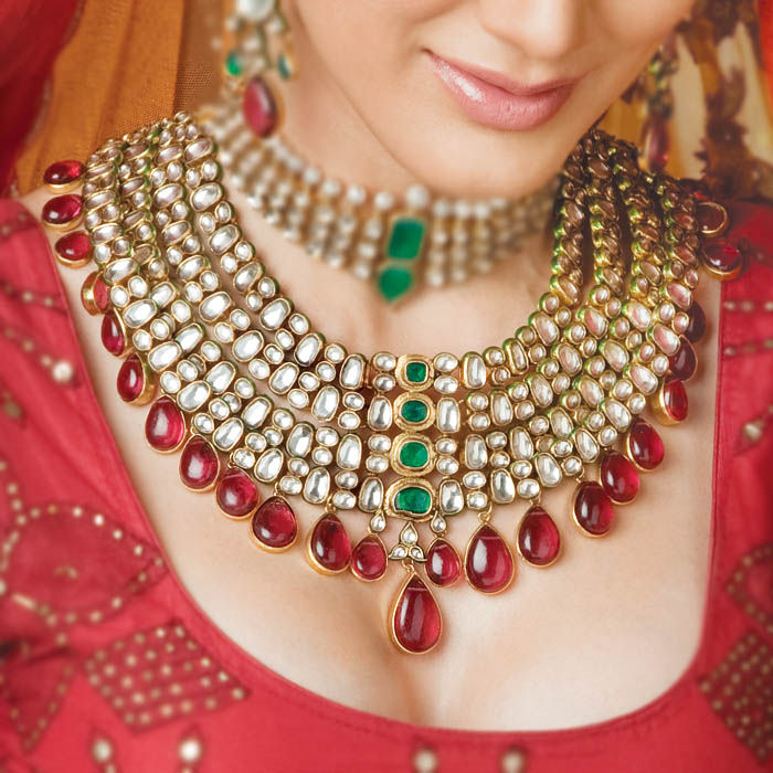Celebrity Indian Brides Indian Bridal Jewelry Beautify The Bride