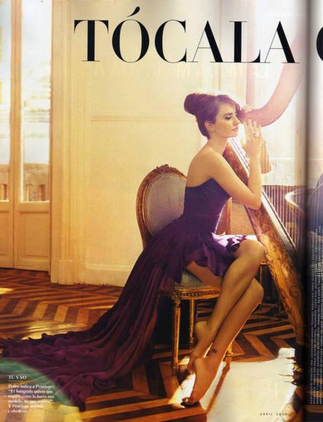 Penelope Cruz Also Cover of Vanity Fair April