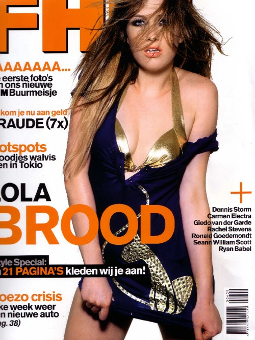 quotLola Broodquot On Spanish FHM Photo Shoot