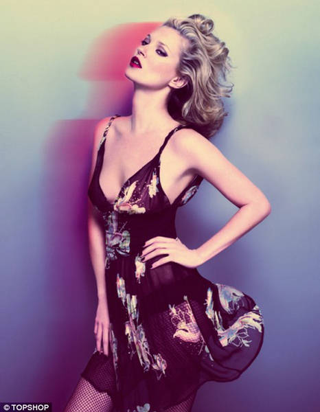 Kate Moss Topshop Spring Collection