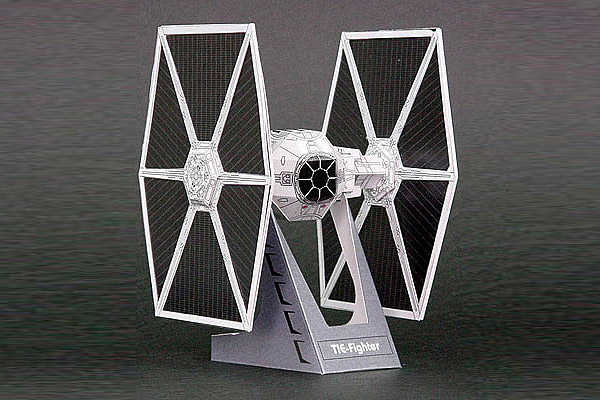 16 awesome star wars paper craft models