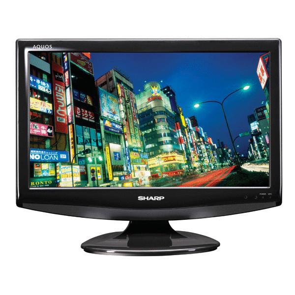 Sharp Aquos LC19D1EBK 19 Inch HD LCD TV
