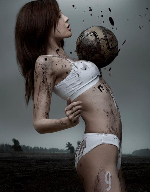 mud soccer girl playboy