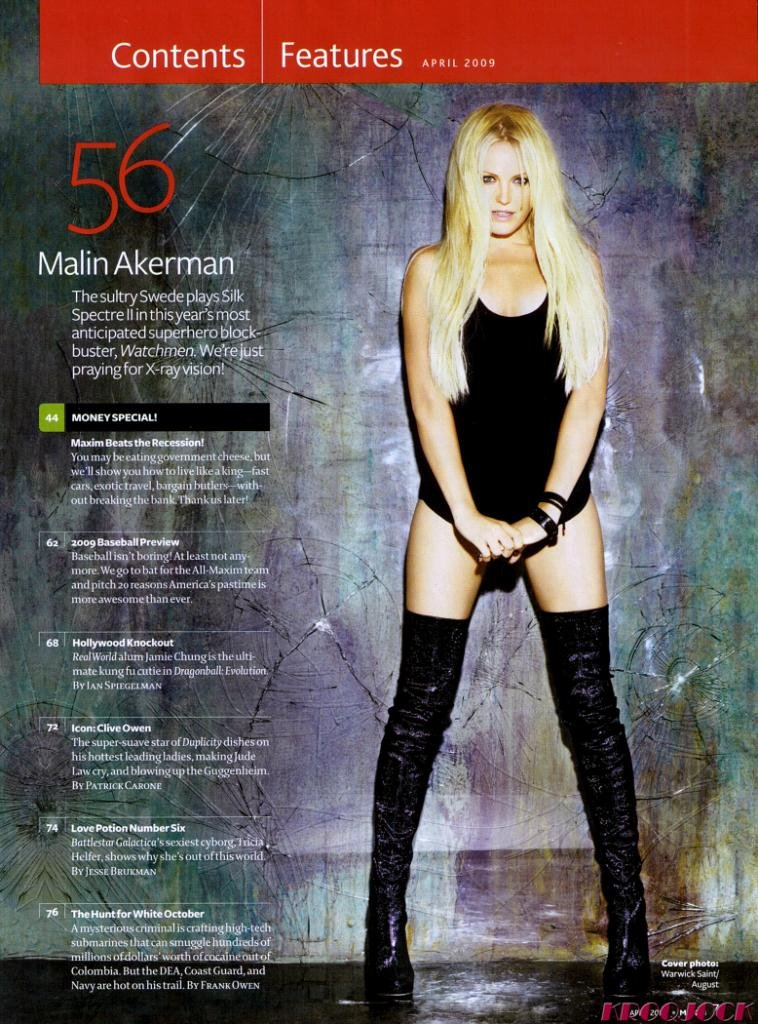 malin akerman maxim. Heartbreaker Malin Akerman