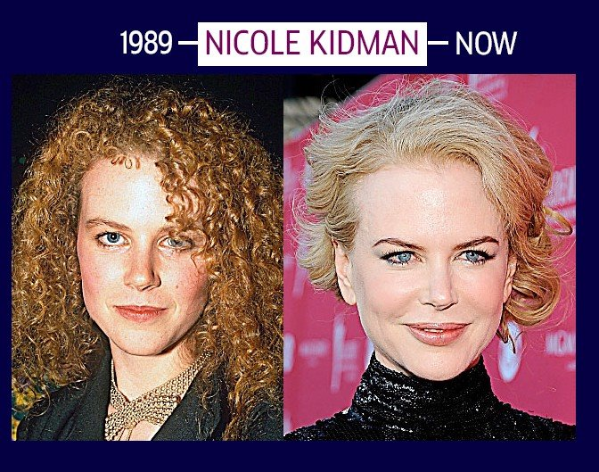 Celebs That Hardly Change Over