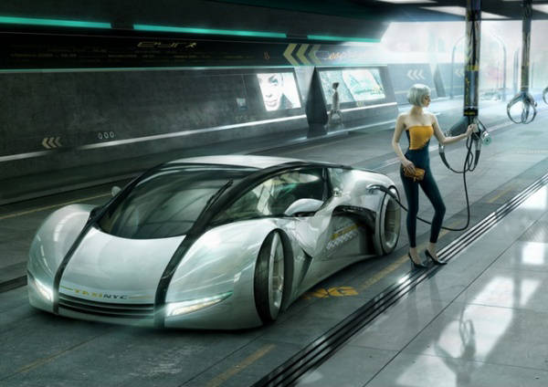 Highway Dream Fascinating 3D Cars  Concept Models