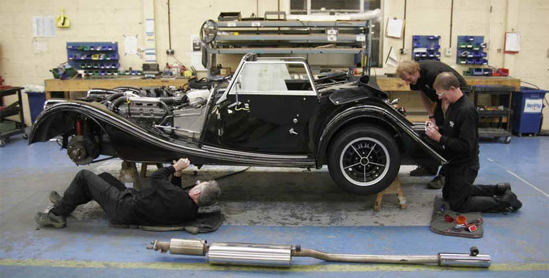 How Morgan Cars Are Made: By Hand, Out Of Wood
