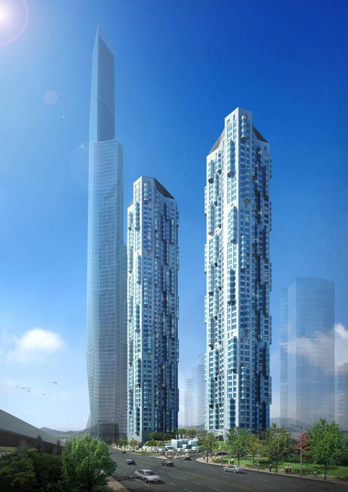 New Buildings Designs in Korea