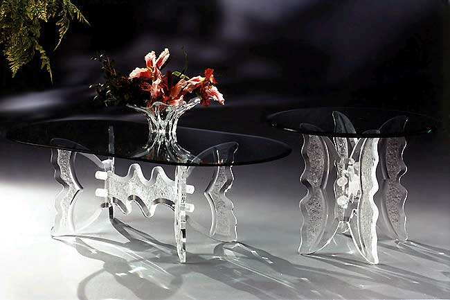 Awesome Glass Furniture