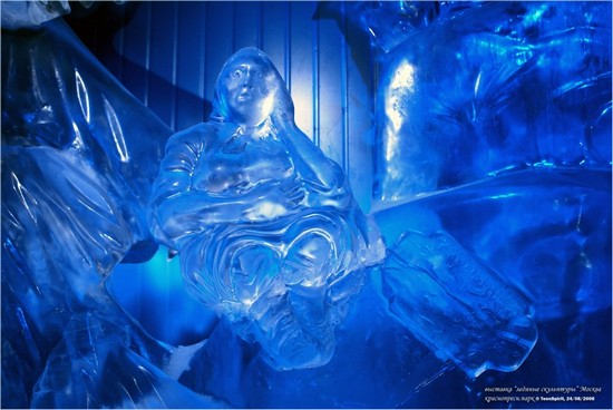 Summer Ice Sculptures