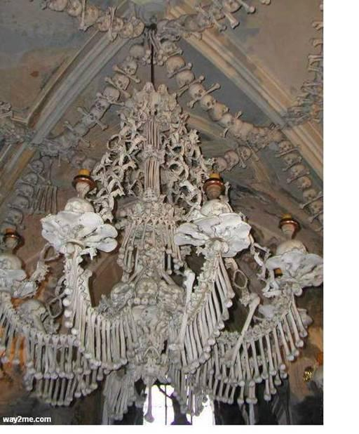 Churchmade up of humen bones Really amazing