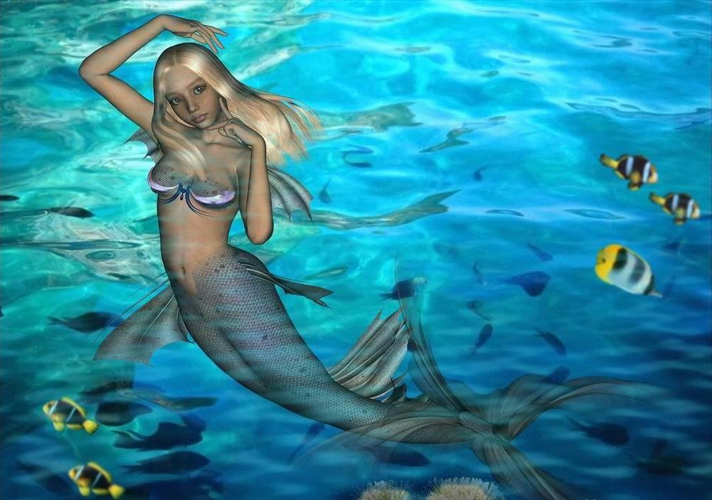 beautiful mermaids...
