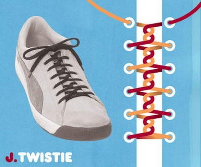 Different Styles of Shoe Knot