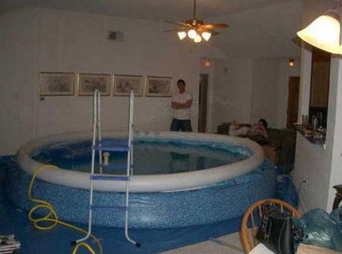 Living Room Swimming Pool
