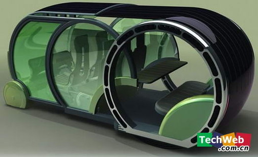 The 2030 New Concept Car A Modern And Green Car