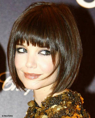 hairstyles with long bangs. Also they can be trimmed without bangs, with long and side-swept bangs.