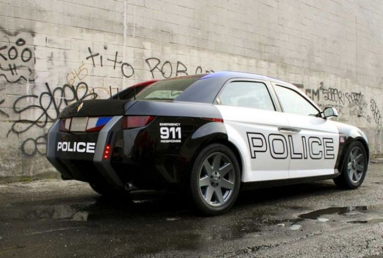 Car Painting Apps >> Future police cars - Carbon Motors E7 (Part-1) - XciteFun.net