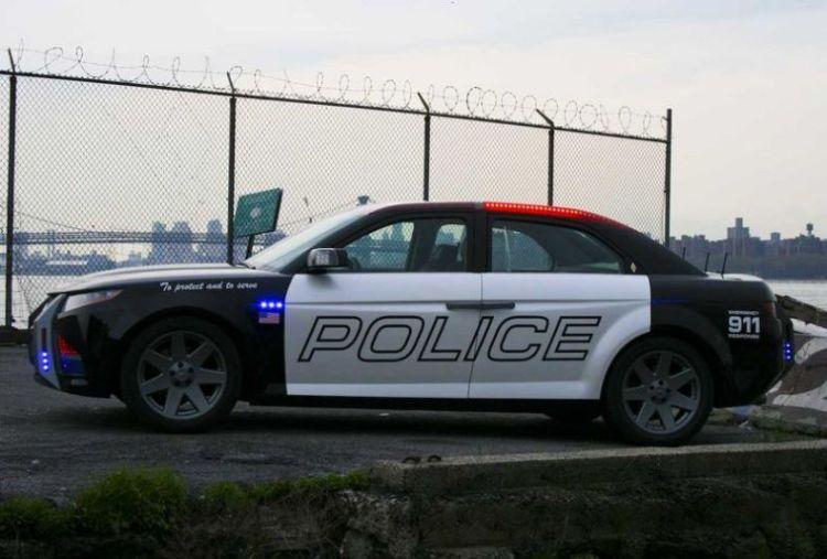 future police cars carbon motors e7 part1 xcitefunnet
