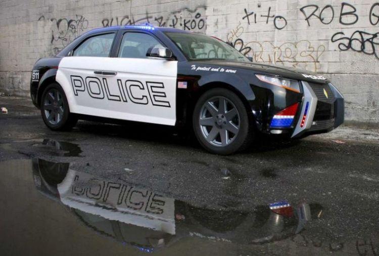 Future Police Cars Carbon Motors E7 Part 1