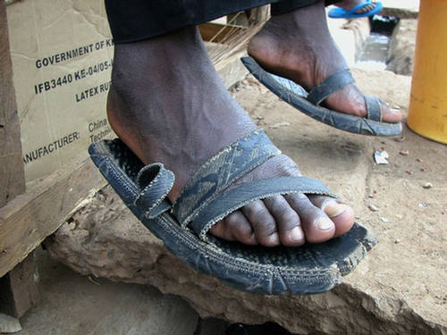 Durable Hand Made Tyre Slippers Xcitefun Net