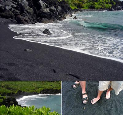 5 Strangely Multi Colored Beaches