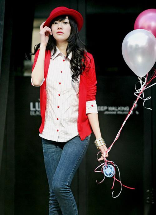 Korean Teen Model quotTang Weiquot PhotoShoot