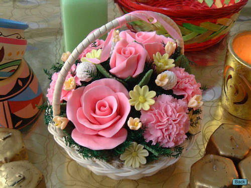 ene how to make a flower coloured