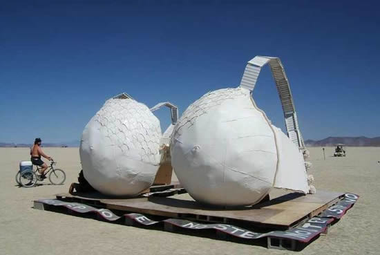 Worlds largest human bra - 1 6