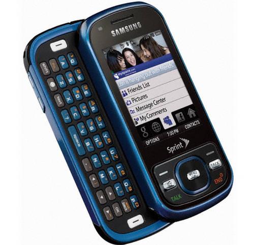 Samsung Exclaim M550 3G Mobile Phone
