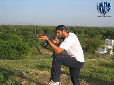 Shahid Afridi Real Life Pictures Boom Boom