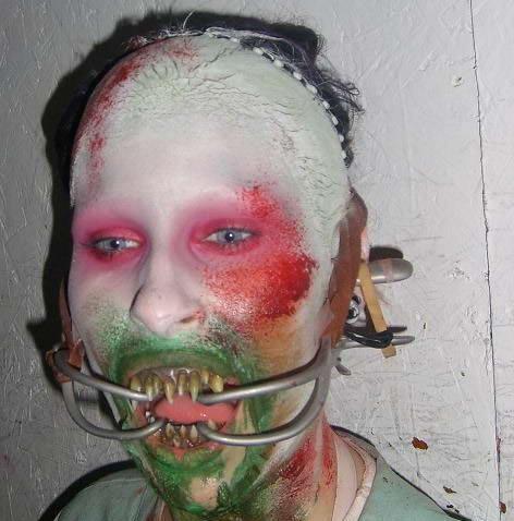 Creepy And Wierd Makeup Pictures Xcitefun Net
