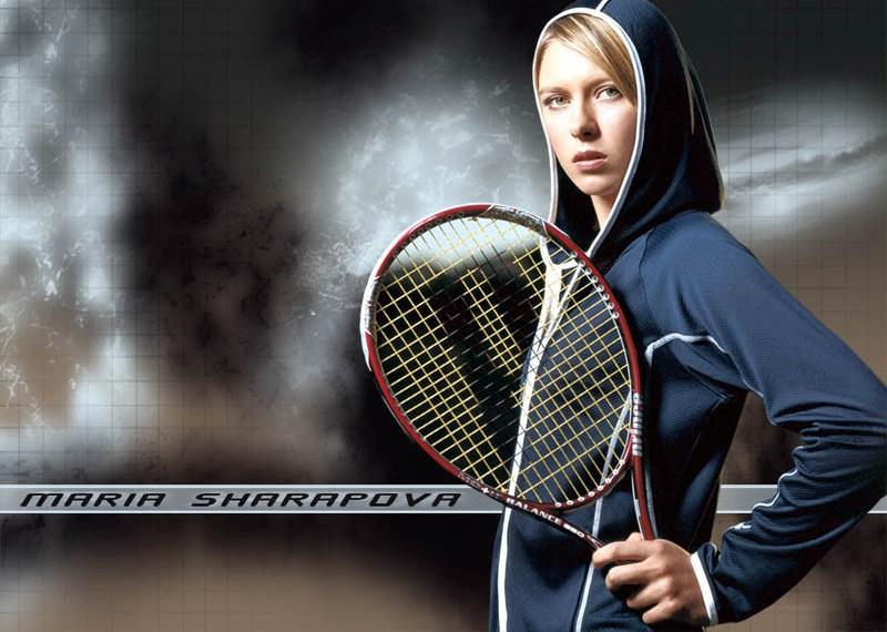 maria sharopova wallpaper. Maria Sharapova Cute and Beautiful Wallpapers