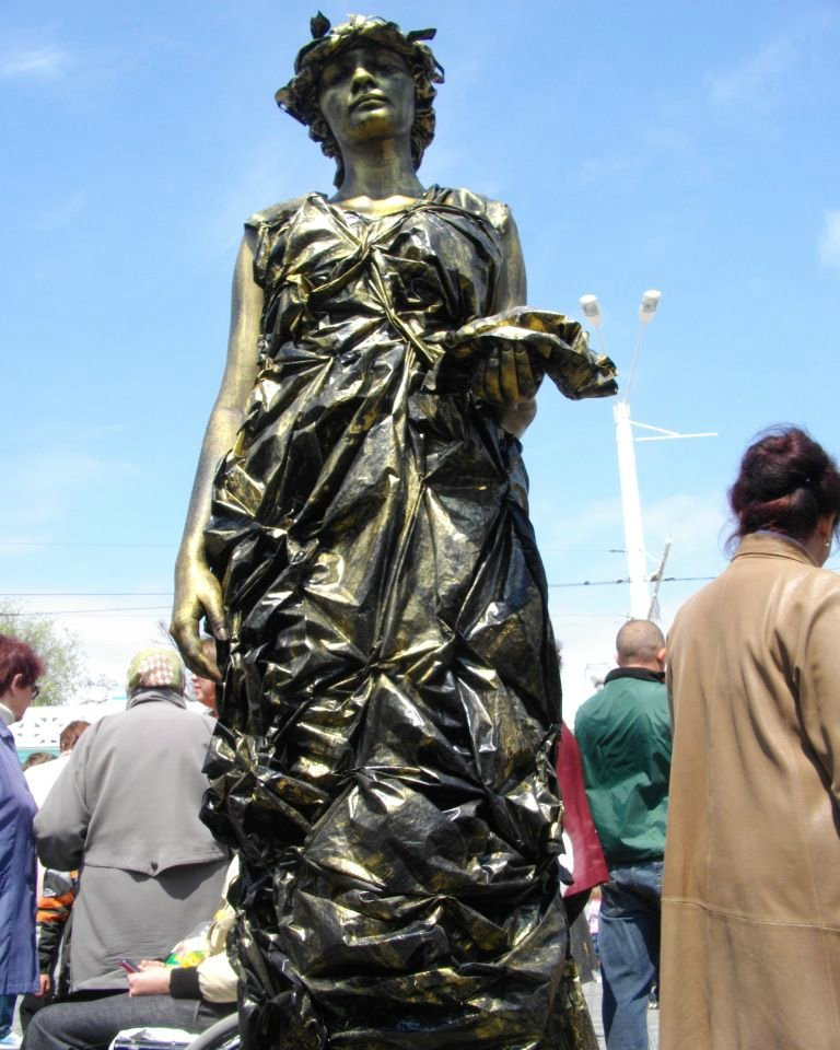 Statues vivantes 93761,xcitefun-10058302651