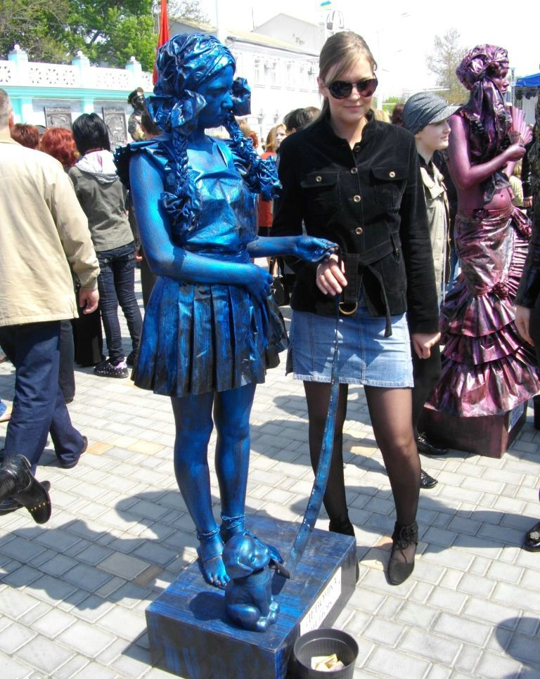 Statues vivantes 93764,xcitefun-10028302412