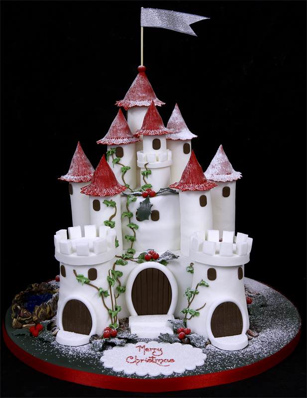 Images Of Castle Birthday Cake : Birthday Cake in Castle style - XciteFun.net