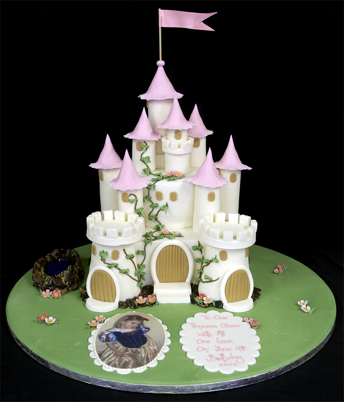 Birthday Cake Castle