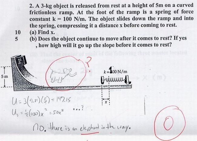 VERY VERY FUNNY EXAM PAPERS!!